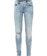 Hilfiger Denim Bleached Skinny Jeans mit Destroyed-Effekt