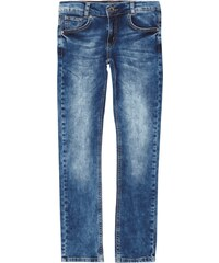 Blue Effect Double Stone Washed Skinny Fit Jeans