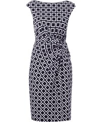 Lauren Ralph Lauren Kleid mit Drapierung und grafischem Muster