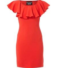 Boutique Moschino Kleid mit Rüschenkragen