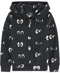 Little Eleven Paris Sweatshirt mit Kapuze mit Print