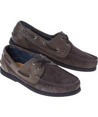Gaastra Chaussures bateau Map Hommes gris