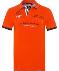 Gaastra Poloshirt Peak Art Herren orange
