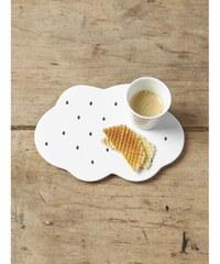 Cyrillus Dessous de plat en céramique - blanc