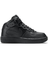 Nike Air Force 1 Mid (PS) - Baskets montantes en cuir - noir