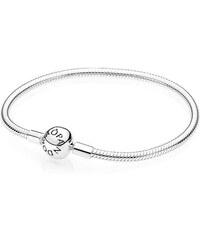 Pandora Armband mit Kugelverschluss glatt Silber 590728-16