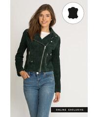 Orsay Biker-Jacke aus Echtleder