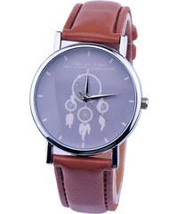 Lesara Armbanduhr Traumfänger - Braun