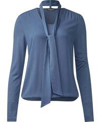 Street One Shirt mit Schluppe Gesa - endless blue, Damen