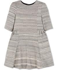 C&A Kleid mit 3/4-Ärmeln in Grau