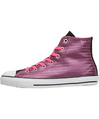 Converse Junior CT All Star Hi Shine Pink Sapphire Black/Neo Pink