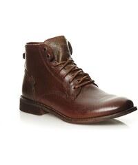 Levi's Boots en cuir - tabac