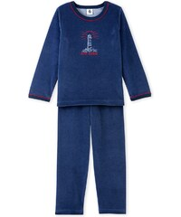 Petit Bateau Pyjama 2 pièces - bleu