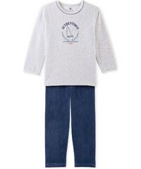 Petit Bateau Pyjama 2 pièces - gris