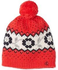 Petit Bateau Bonnet en laine mélangée - rouge