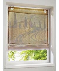 Raffrollo Heine Home natur ca. 130/100 cm,ca. 130/120 cm,ca. 130/80 cm