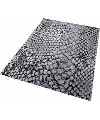 Teppich Wecon Home Snake Schlangen-Optik WECON HOME grau 2 (B/L: 80x150 cm),3 (B/L: 120x170 cm),31 (B/L: 133x200 cm),4 (B/L: 160x225 cm),6 (B/L: 200x290 cm)