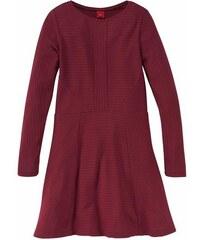 S.OLIVER RED LABEL JUNIOR RED LABEL Junior Kleid mit langen Ärmeln für Mädchen rot 128,134,140,146,152,158,164,170,176