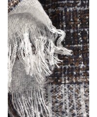 Damen Modeschal HIGHLIGHT COMPANY schwarz-weiß