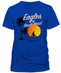 CID Herren T-Shirt Eagles of Death Metal-Sun Logo