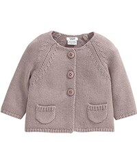 Mamas & Papas Baby-Mädchen Strickjacke and Dusky Pink Cardigan