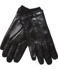Baťa Kožené rukavice s úpletem