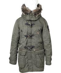Khujo Pánská zimní bunda s kapucí