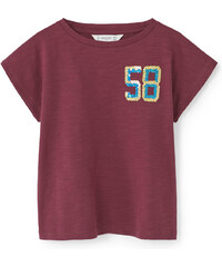MANGO KIDS T-Shirt Coton Sequins