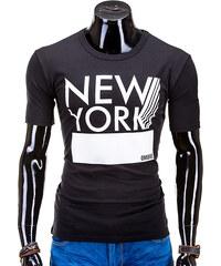 OMBRE T-Shirt New York - Schwarz - S