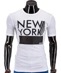 OMBRE T-Shirt New York - Weiß - S