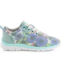 Lesara Leichtgewicht-Sneaker mit Blumen-Muster - 35