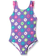 Hatley Mädchen Einteiler Girls Ruffle One Piece Swim Suit-flower Garden