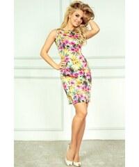Luxusní letní pouzdrové mini šaty SaF