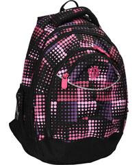 Bagmaster Dívčí školní batoh s puntíky