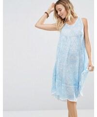 Anmol - Umbrella - Robe courte imprimée - Bleu marine