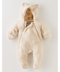 Cosy Teddy All In One Cremefarben Baby Boden