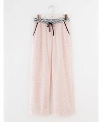 Gewebte Pyjamahose PSP Damen Boden