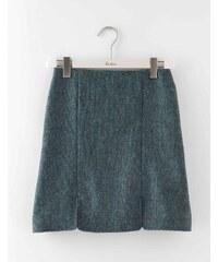 Minirock aus britischem Tweed T�rkis Damen Boden