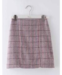 Minirock aus britischem Tweed Bunt Damen Boden