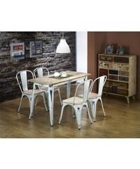 Jídelní stůl Magnum PR, retro bílá