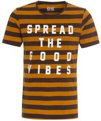 Tantum O.N. Herren T-Shirt braun aus Baumwolle