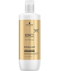 SCHWARZKOPF BC Excellium Taming Shampoo 1000ml - šampon pro krepaté a hrubé vlasy
