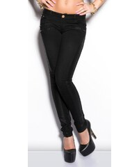 Koucla Černé skinny džíny