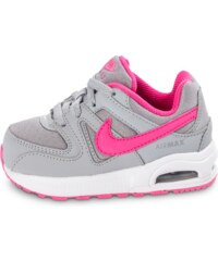 Nike Baskets/Running Air Max Command Bébé Grise Et Rose Bébé