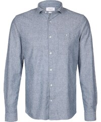 Nowadays Brushed Oxford chemise manches longues faded navy