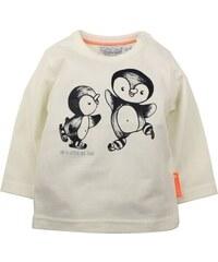 Dirkje Dětské tričko s tučňáky - bílé