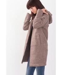 Esprit Kabát z plstěné vlněné směsi