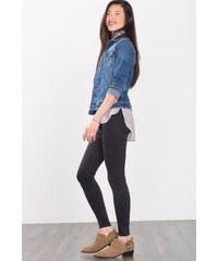 Esprit Veste en jean stretch à effets usés