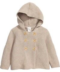 H&M Bavlněný svetr s kapucí