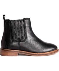 H&M Kožené boty jodphur
